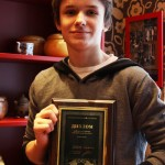 Тимофей Арсёнов - победитель (I группа)